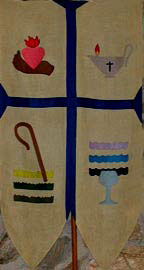 The Heidelberg Catechism banner
